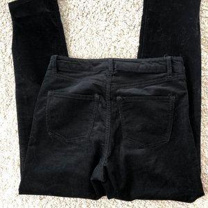 H&M corduroy black pants